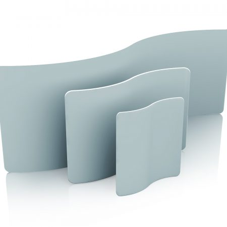 Fabric Exhibition Display Stand - S Shaped 0