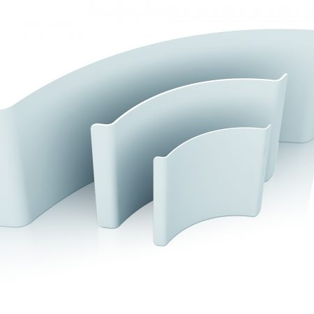 Fabric Exhibition Display Stand - Curved Line 0