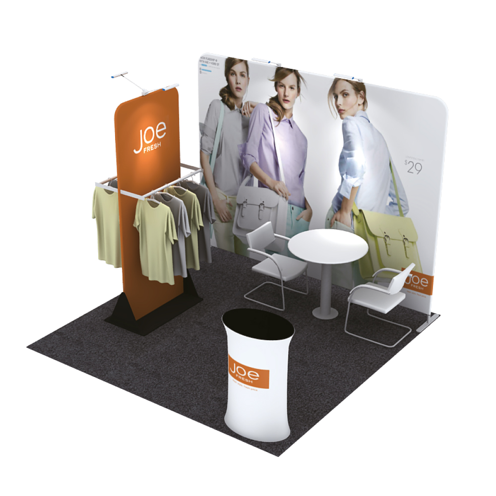 3m x 3m 10ft Booth 015