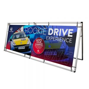 a-frame stand for pvc banners