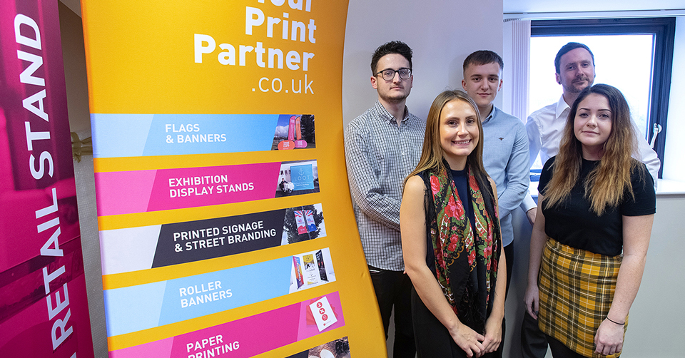 Your Print Partner team