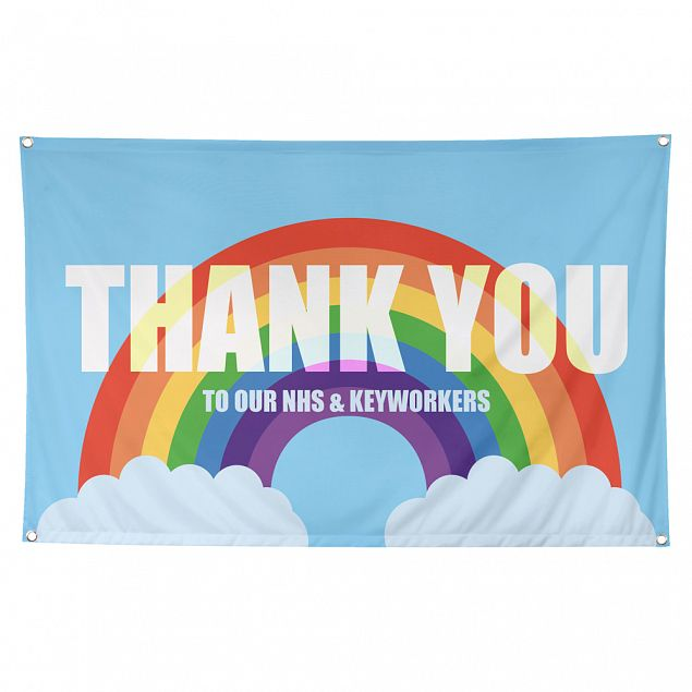 Thank You NHS and Keyworkers Flag Main