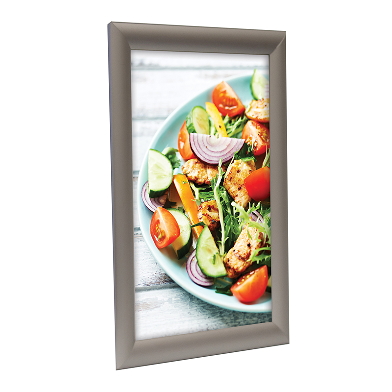 25mm Mitred Snap Frame - Silver Main