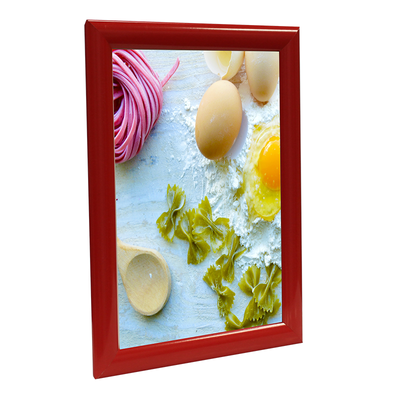 25mm Mitred Snap Frame - Red Main