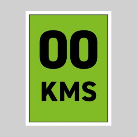 45 x 60 cm Correx Signs - KM Markers 0