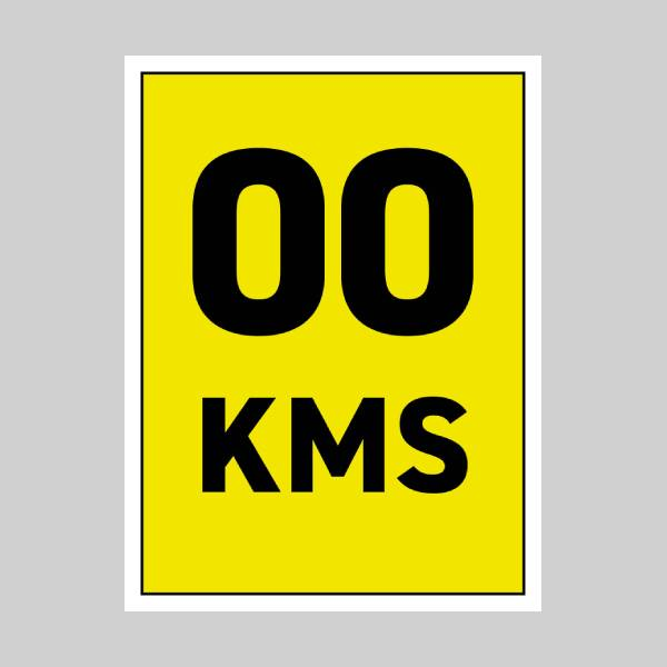 45 x 60 cm Correx Signs - KM Markers Main